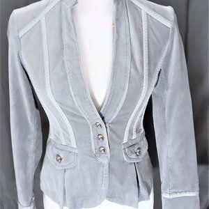 WHBM 00 Jacket White House Black Market Gray